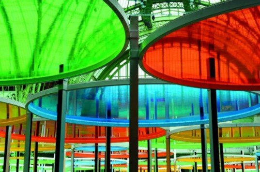 monumenta, daniel buren, grand palais paris, grand palais museum, installation art, colorful artwork, interactive sculpture