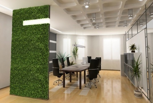 Acoustic Factory, soundproofing, green wall, living wall, recycled materials