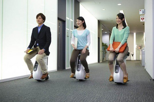 Honda, Honda UNI-CUB, personal mobility device, green transportation, Honda U3-X, Segway, personal electric vehicle, personal transportation