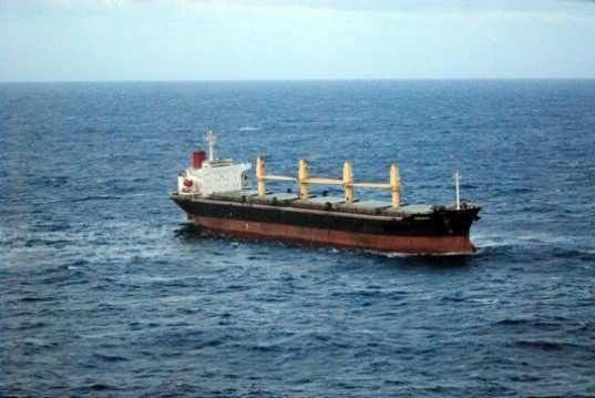 great barrier reef, out of control freighter, id integrity, great barrier reef wreck, great barrier reef broken down ship