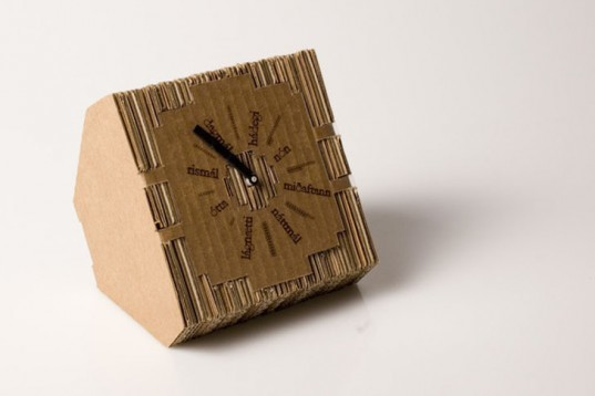Jón Helgi Hólmgeirsson, Icelandic design, biodegradable cardboard, layered cardboard, Recycling / Compost, Green Products, green gadgets, Green Materials,