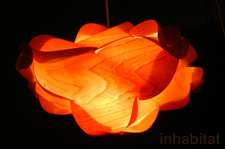 At Labo S Wood Veneer Lamps Are Puzzles You Put Together