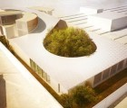 Solar-Powered Swiss Clockwork Embassy in Cameroon Will Have a Green Roof
