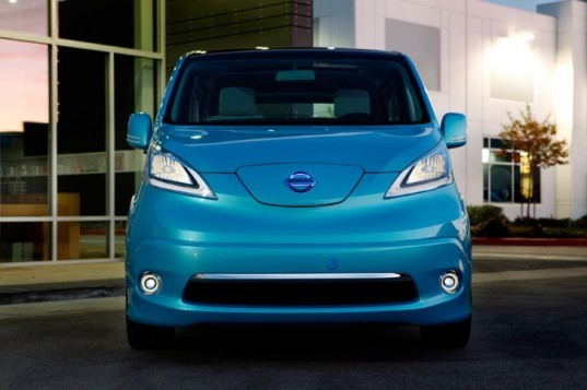 Nissan, Nissan NV200, Nissan e-NV200, Nissan electric vehicle, Nissan Leaf, Nissan electric van, green transportation, automotive