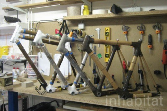 Ozon Cyclery, custom-made bikes, bamboo bicycles, renewable bamboo, Blo-Ateliers, berlin, Kinetic Energy, Recycling / Compost, Botanical, Green Materials, Bicycles