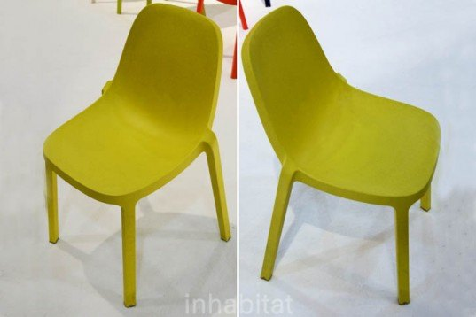 ICFF, Recycled Materials, Green Design Events, green furniture, Philip Starck, broom chair, emeco, recycled wood, reclaimed polypropylene, recyclable chair