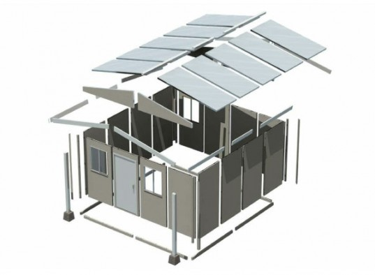 SIPs, Low cost prefab, emergency housing, QuickHab, FEMA house, flatpack house,low income housing,