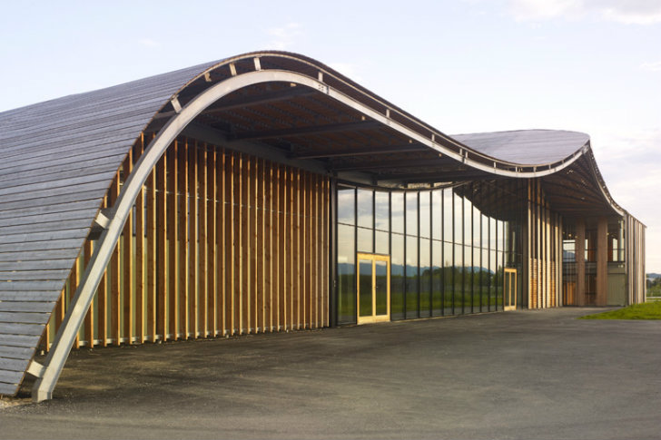 Rossignol's Mountain-Inspired Headquarters Minimizes its Environmental Impact