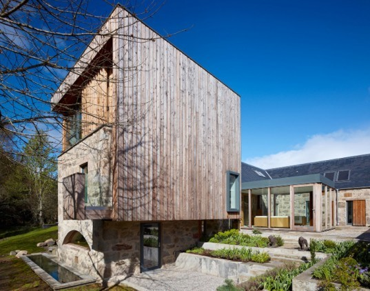 green design, eco design, sustainable design, Rural Design, The Mill, Scotland, adaptive reuse, historic mill, Lock Ussie