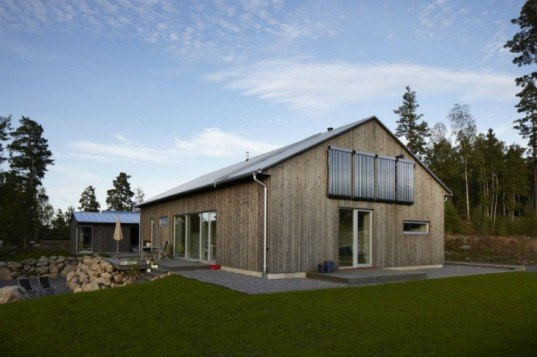Silvervillan, Sjöberg & Thermé, sweden, low energy house, green home, eco home