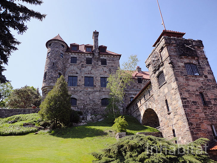Spend a Night in a Historic Castle on a Private Island in Upstate ...