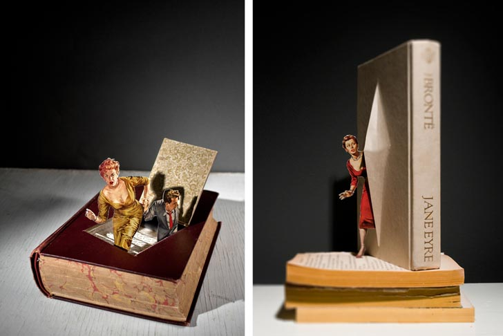 Classic Book Cover Up : Thomas allen s makes pop up classic books covers