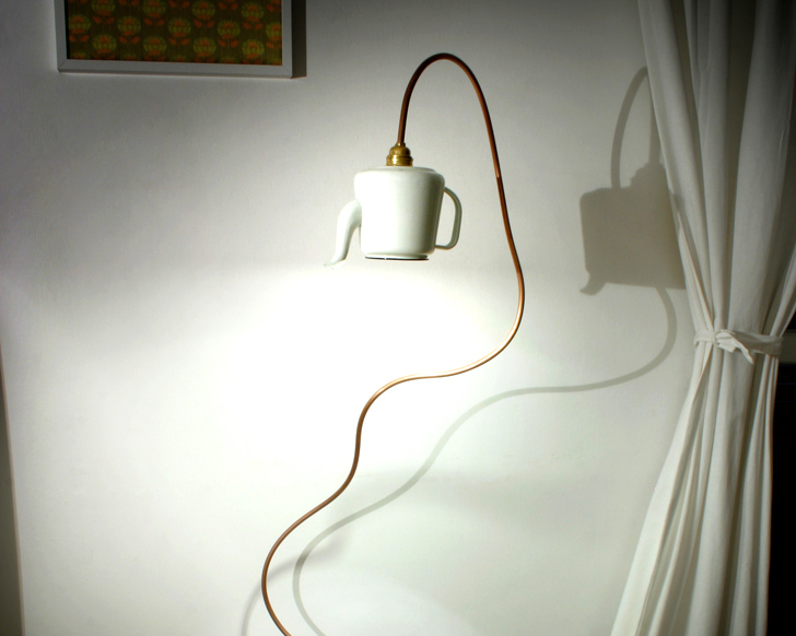 item head teapot lamp small of a bed night cafe bedroom the restaurant