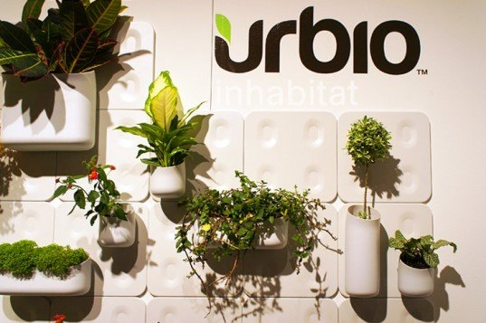 Urbio Plant Holders, urbio, icff, international contemporary furniture fair, icff 2012, new york design week, green design, sustainable design, green furniture, sustainable furniture, green interiors, green products, ny design week
