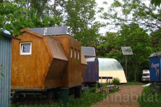 Berlin,Wagendorf Lohmühle, Caravan Village, experimental architectural, vermicompost, compost, rain water collection system, clothes recycling, art, recycled materials, caravan, kreuzberg, Prefab Housing, Architecture, Urban design social design, Renewable Energy Recycling / Compost, Botanical,