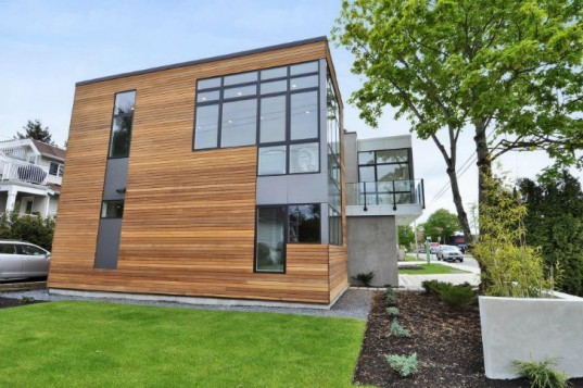 White Rock Prefab, InHaus Development, Pb Elemental, prefab home, prefab, british columbia