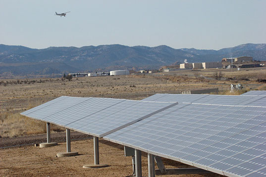 Airports, solar panels, renewable energy farms, USDA airports