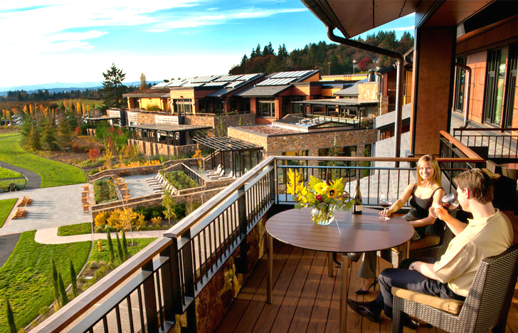 The Allison Inn And Spa Is A Luxurious Green Roofed Getaway In Oregon Wine Country