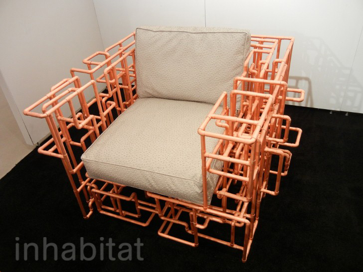 Exceptional BRC Designsu0027 American Pipe Dream Chair And Table Are Made From A Maze Of  Copper Piping | Inhabitat   Green Design, Innovation, Architecture, Green  Building