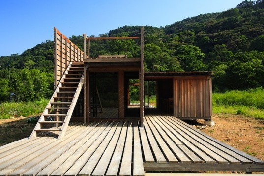 Casagrande Laboratory, Chen House, wooden construction, natural disasters, earthquakes, typhoons, bioclimatic design, taiwan, Datun, green design, sustainable design, eco-design, farmhouse