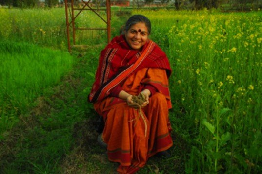 dr. vandana shiva, living future 2012, living future unconference, green design, green development, sustainability