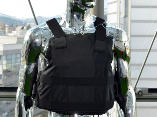 EMPA, policemen, bulletproof vests, air conditioners, air conditioning, Swiss Federal Laboratories for Materials Science and Technology, wearable technology, eco-fashion, sustainable fashion, green fashio