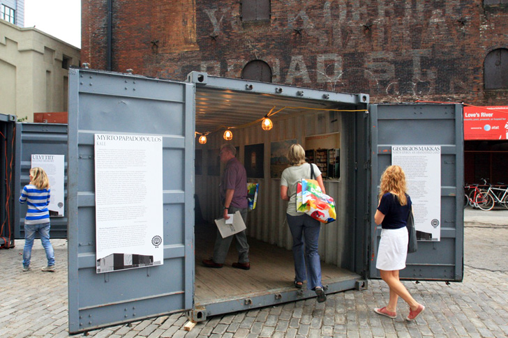 Shipping Container Village Photoville Coming To Brooklyn
