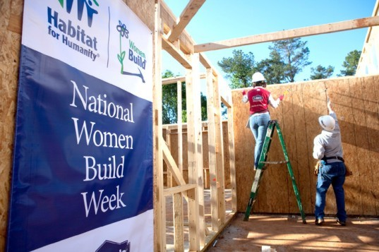 habitat for humanity, hfh, women build week, Habitat for Humanity Women Build Week, national women build week, green design, humanitarian design, eco design, sustainable design, women builders, women carpenters
