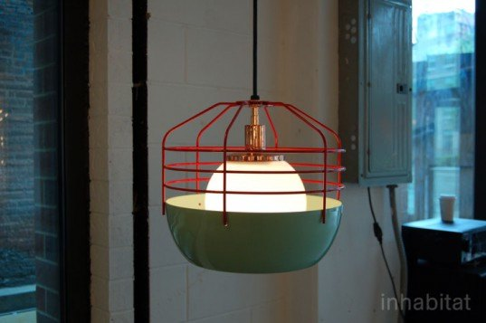 bluff city pendant, jonah takagi, roll and hill, new york design week 2012, noho design district 2012