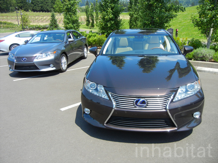 the new lexus es300h we test drive the first ever hybrid es in oregon wine country inhabitat. Black Bedroom Furniture Sets. Home Design Ideas