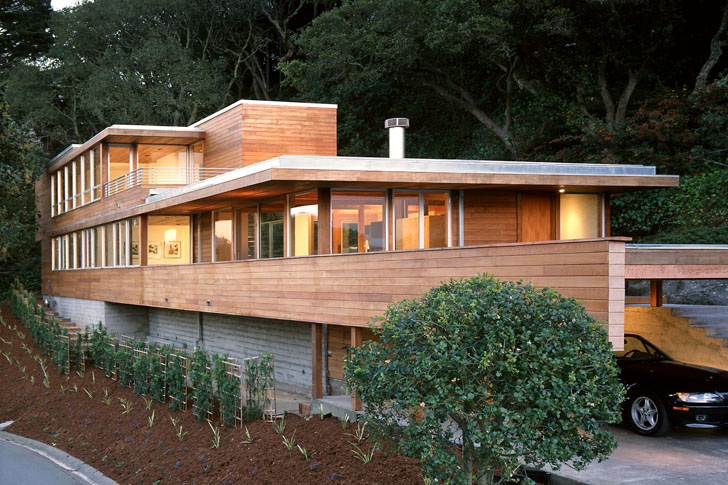 Tafoni Prefab Floating House Is Inspired By The California Coast - Tafoni-prefab-floating-house-is-motivated-by-the-california-coast