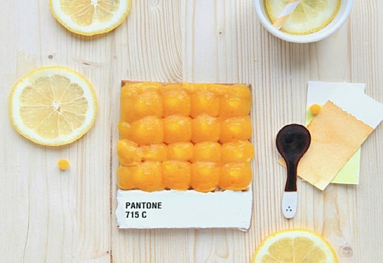 emilie griottes, edible design, pantone swatches, delicious design, green design, sustainable food