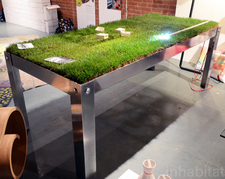 Grassy PicNYC Table Brings Al Fresco Dining To Your Living Room PicNYC Table  By Haiko Cornelissen U2013 Inhabitat   Green Design, Innovation, Architecture,  ...