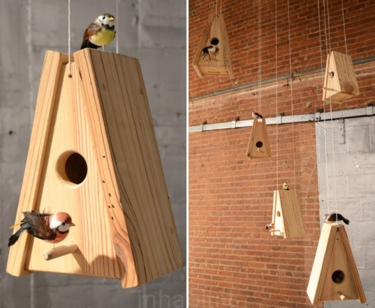 Birdhouses, Plywood Office, birdhouse, wanted design, new york design week, ny design week 2012, green design, sustainable design, green furniture, green interiors, green products, sustainable products, eco design