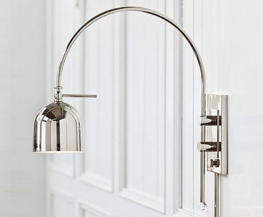 Regina Andrew Arc Wall Sconce, green lamp, sustainable lamp, led bulb, led lamp, low-energy lighting, sustainable design, green design