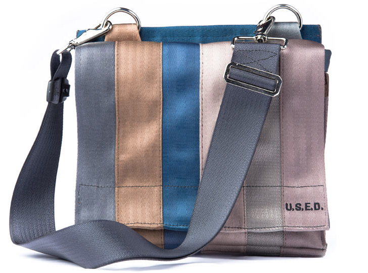 ac0f2e993e U.S.E.D. Recycled Seatbelt Bag « Inhabitat – Green Design ...