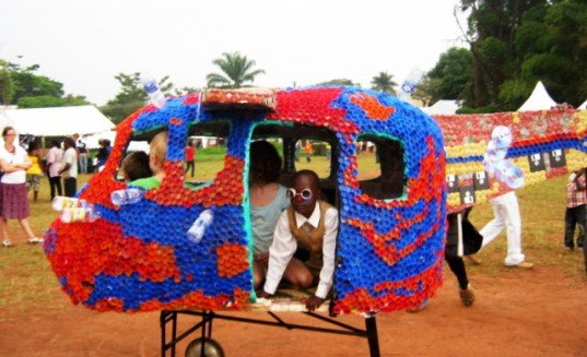 "Ruganzu ""Bruno"" Tusingwire, TED 2012, TED, TED 2012 Winner, TED art, TED Talks, TED recipients 2012, recycled plastic bottle amusement park, recycled plastic bottle designs, eco amusement park, uganda amusement park, green design, humanitarian relief efforts"