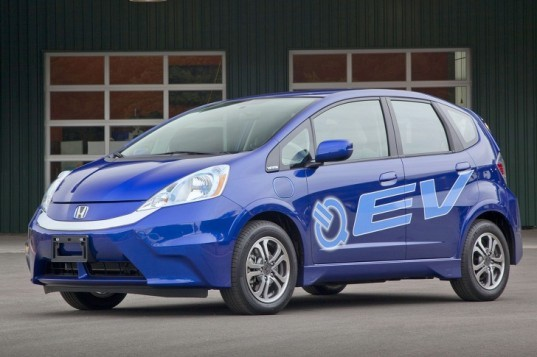 Honda, Honda Fit, Honda Fit EV, Honda electric vehicle, electric vehicle, green transportation, Nissan Leaf, Ford Focus Electric, energy efficient transportation