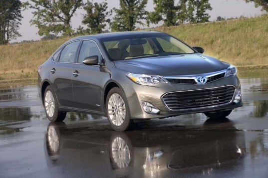 Toyota, Toyota Avalon, Toyota hybrid, electric sedan, hybrid sedan, nickel-metal hydride battery, green transportation, green car, automotive, hybrid car