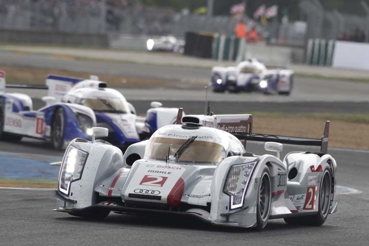 audi r18 e tron quattro becomes the first hybrid to win the 24 hours of le mans race inhabitat. Black Bedroom Furniture Sets. Home Design Ideas
