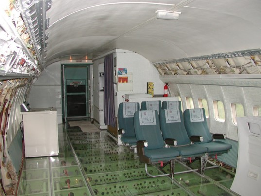 airplane house, airplane conversion,Boeing 727, reclaimed airplane, restoring airplane home,