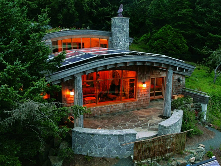 amazing building a home in oregon #5: Green-Roofed Cannon Beach Home in Oregon Generates More Energy Than it Uses  | Inhabitat - Green Design, Innovation, Architecture, Green Building