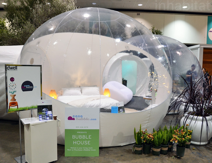 Casa Bubble Prefab Inflatable Pod Buildings Pop Up At