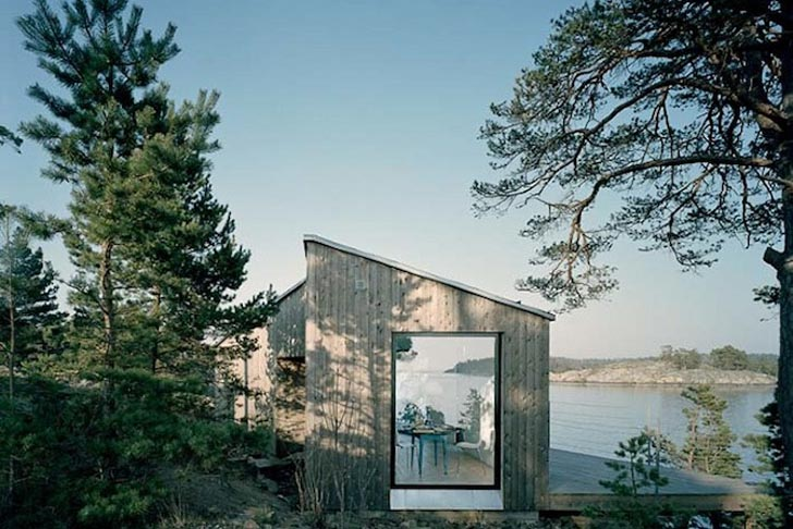 Sweden's Krakmora Holmar House is a Tranquil Island Home by the Baltic Sea  | Inhabitat - Green Design, Innovation, Architecture, Green Building