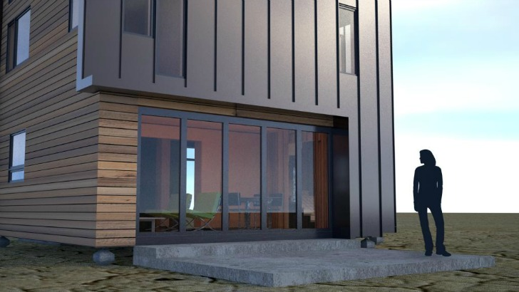 All In One Ecopak House Incorporates Its Own Shipping
