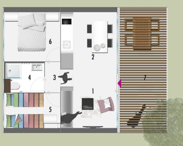 Coodo S Stylish Modular Units Can Be Combined To Create The Prefab Home Of Your Dreams