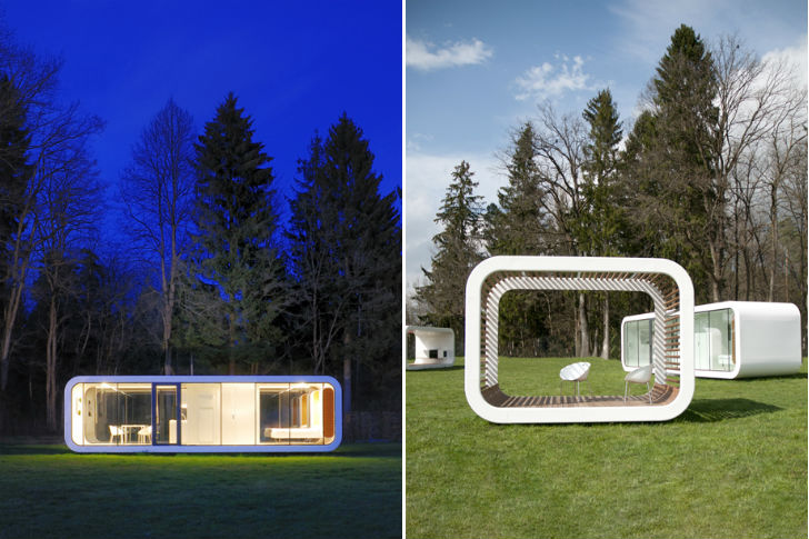 Modular Units coodo's stylish modular units can be combined to create the prefab