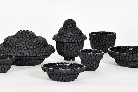 Debbie Wijskamp, Black Ruby, Weird, Wonderful, homeware, recycled rubber, dutch design, Recycled Materials, Green Products, tyres