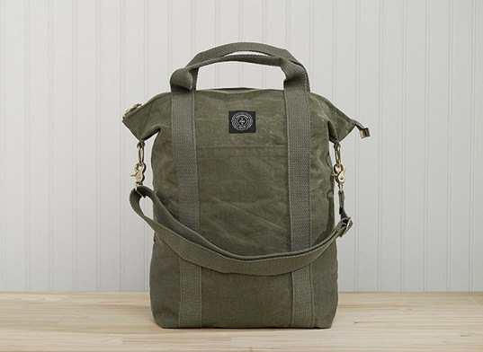 green design, eco design, sustainable design, recycled materials, recycled military canvas, recycled tents, Field Aesthetic, American made products, local products, Green Mountains