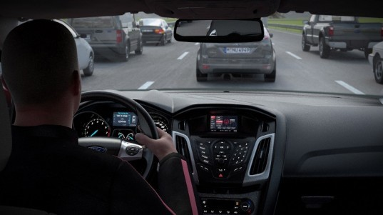 green transportation, automated driving, driverless cars, Ford, Ford Traffic Jam Assist, green car, fully automated driving, volvo,traffic reduction